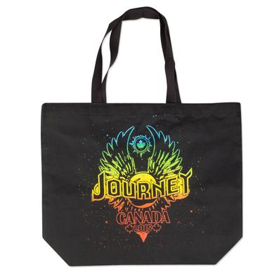 Journey 2015 Tour Tote Rainbow Winged Globe