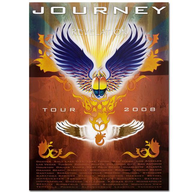 Revelation Journey Tour Poster