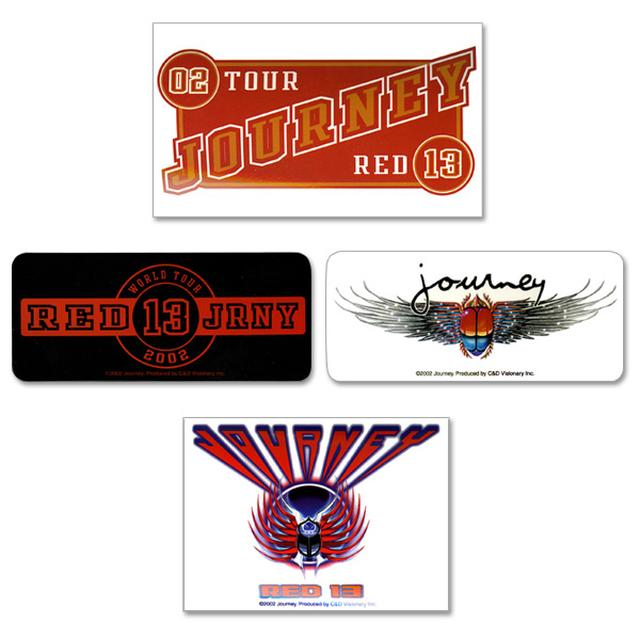 Journey UTR Sticker Pack