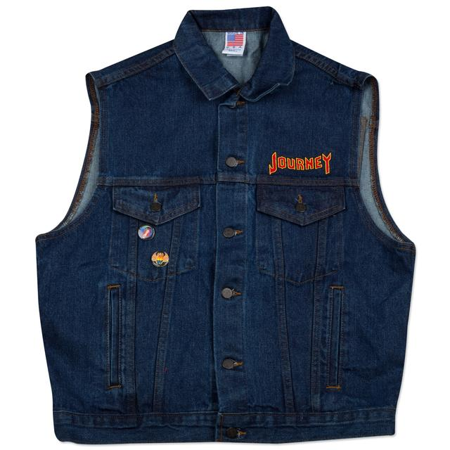 Journey 2014 Tour Denim Vest