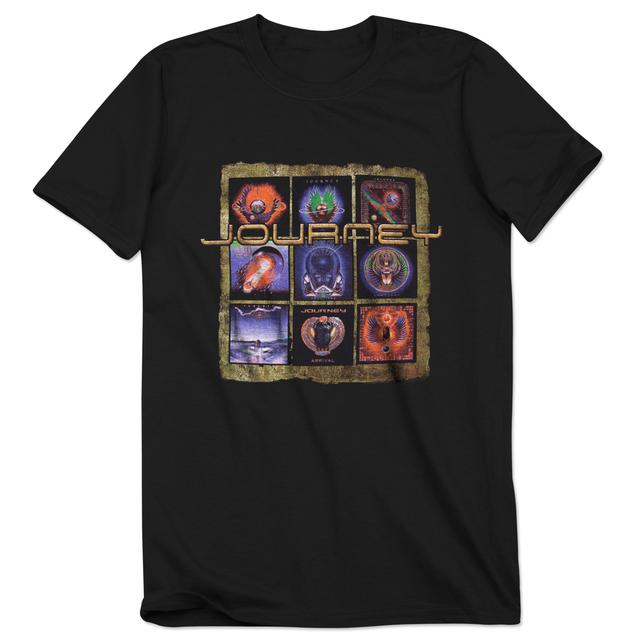 Journey 2014 Tour Journey Discography T-Shirt