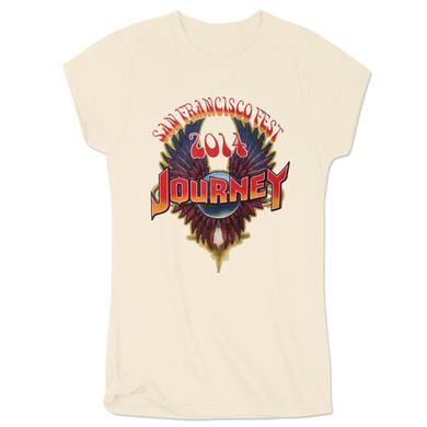 Journey 2014 Tour San Francisco Ladies T-Shirt