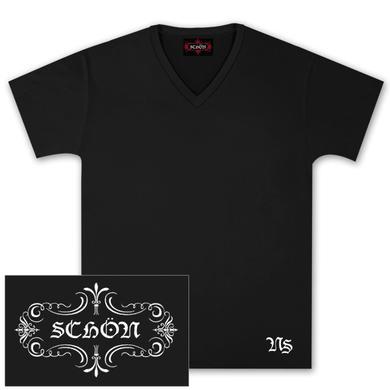 Journey Neal Schon Black V-Neck T-Shirt