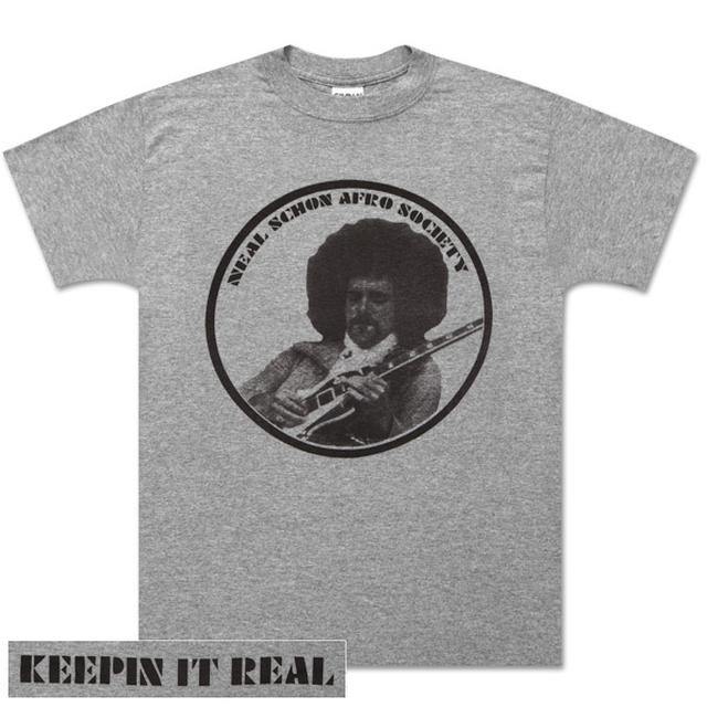Journey Neal Schon Afro Society Grey T-Shirt