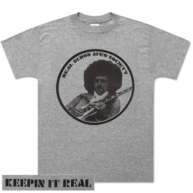 Neal Schon Afro Society Grey T-Shirt