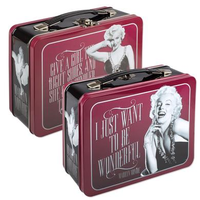 Marilyn Monroe Large Tin Tote