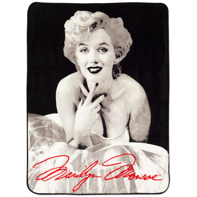 Marilyn Monroe Ballerina Dress Throw Blanket