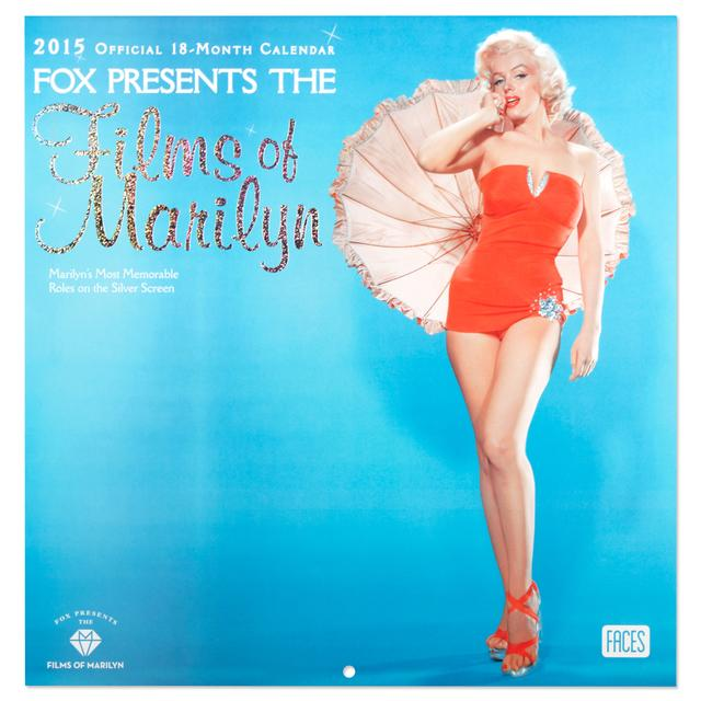 Marilyn Monroe Marilyn in the Movies 2015 Wall Calendar