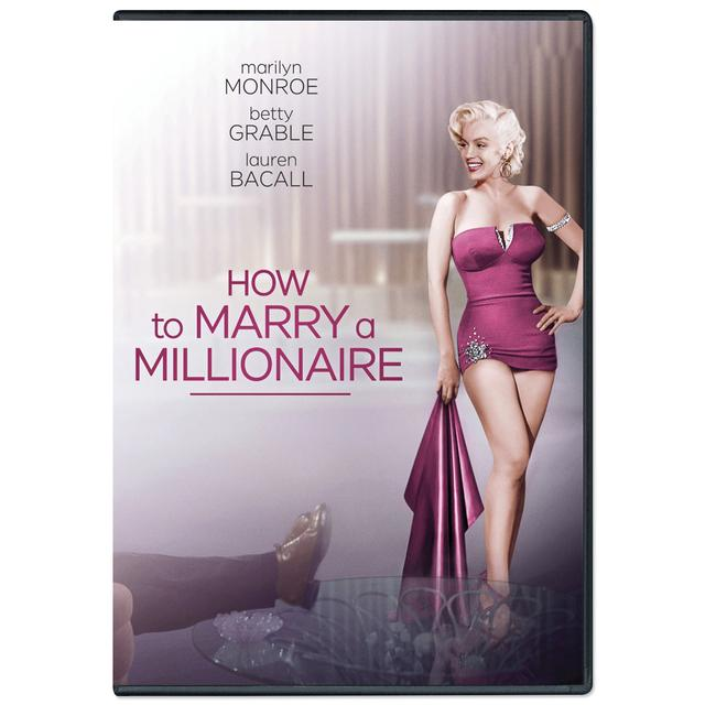 Marilyn Monroe How to Marry a Millionaire DVD