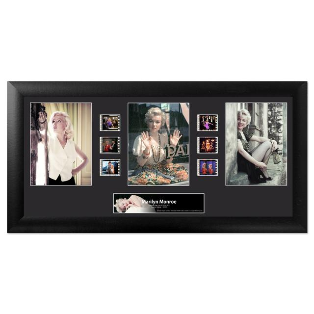 Marilyn Monroe - Trio Framed FilmCell