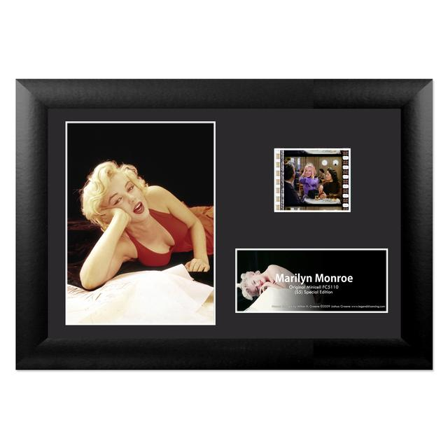 Marilyn Monroe - Montage Framed FilmCell