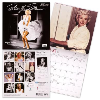 Marilyn Monroe 2016 Mini 7x7 Faces Calendar