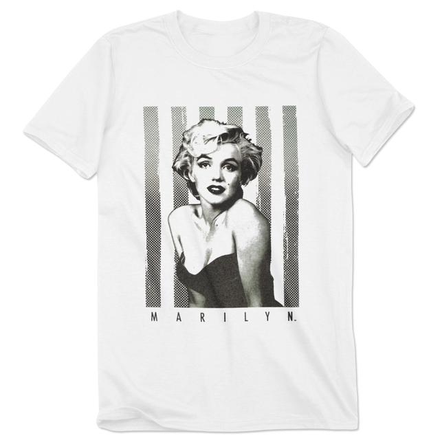 Marilyn Monroe Pin up Stripes Tee