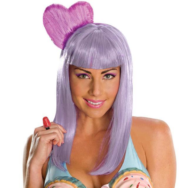 Katy Perry Costume Wig Purple