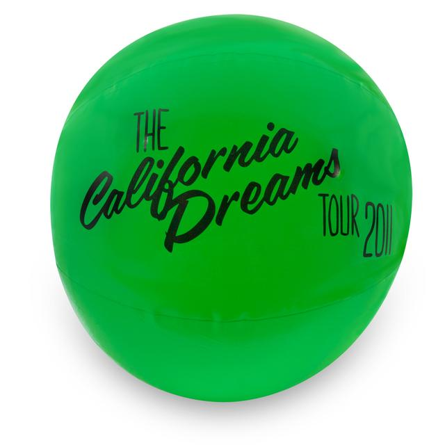 Katy Perry Green Beach Ball
