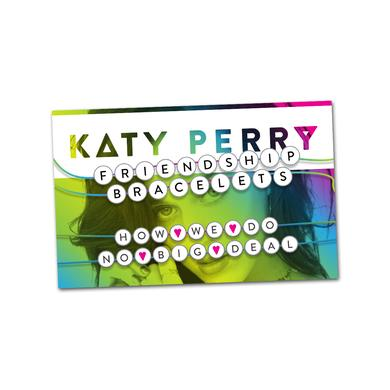 "Katy Perry Friendship Bracelet Set ""How We Do"""