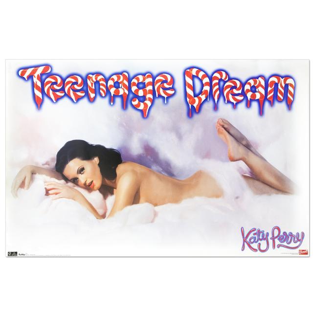Katy Perry Teeange Dream Cloud Poster