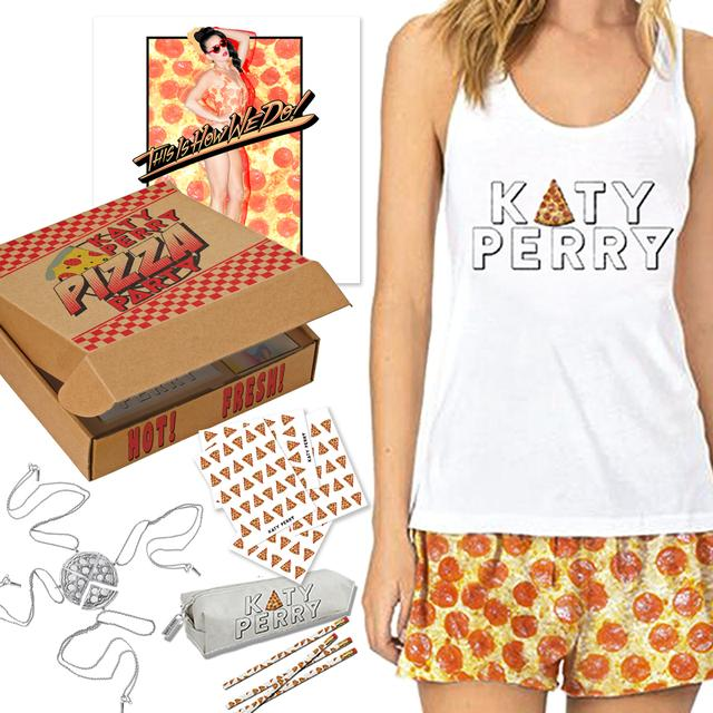 Katy Perry Special Edition X-Large Pizza Box Merch Kit (DVD/BLU-RAY NOT INCLUDED)