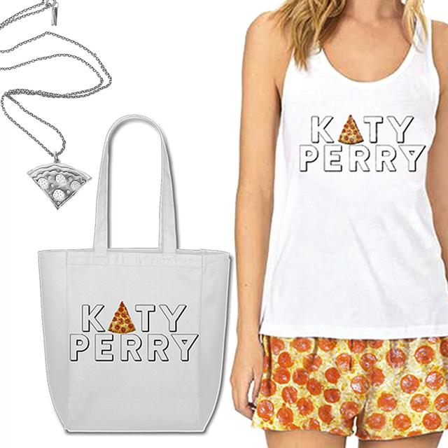 Katy Perry Special Edition Pizza Slice Merch Kit (DVD/BLU-RAY NOT INCLUDED)