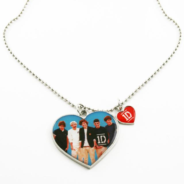 One Direction 1D Group Pendant Necklace