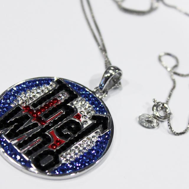 The Who Classic Logo Swarovski Necklace
