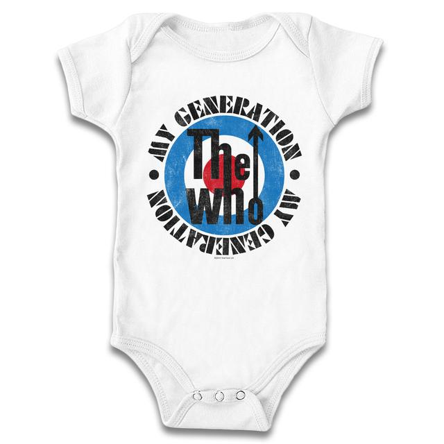 The Who My Generation Onesie