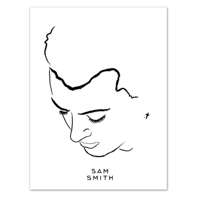 Sam Smith Lithograph | Sam Smith Portrait