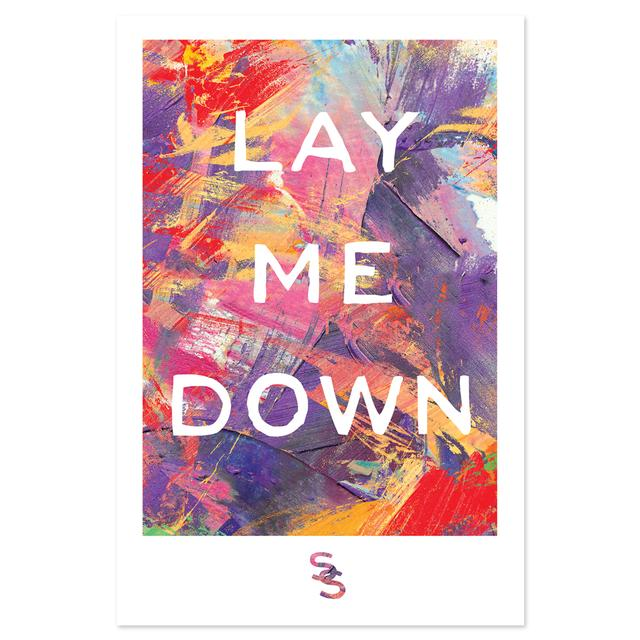 Sam Smith Lay Me Down Poster