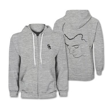 Sam Smith Hoodie | Portrait Zip Up