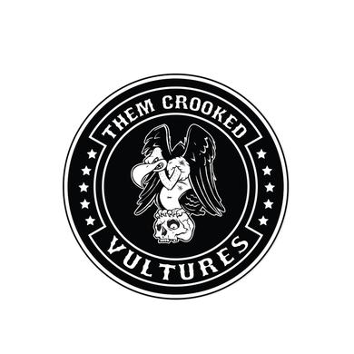 """Them Crooked Vultures Vulture 3"""" Patch"""