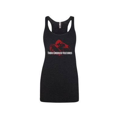 Them Crooked Vultures Scavenge Tri-Blend Racerback Tank