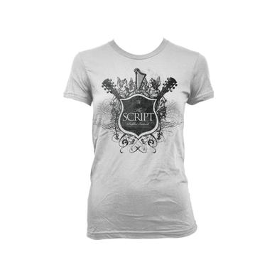 The Script Crest Girls Tee