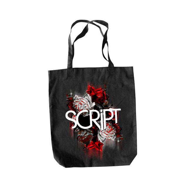 The Script Blurred Roses Tote