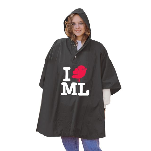 Mysteryland USA I Bird ML Rain Poncho