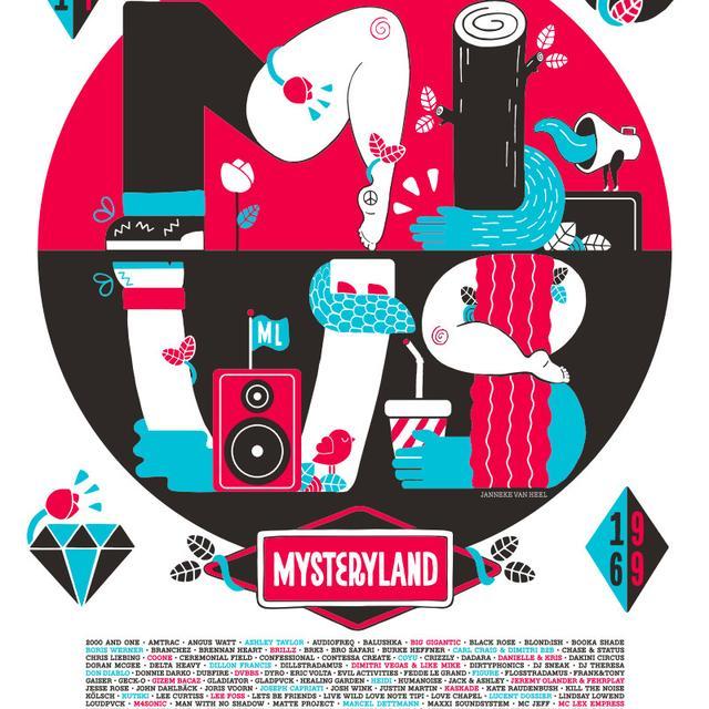 Mysteryland USA Poster