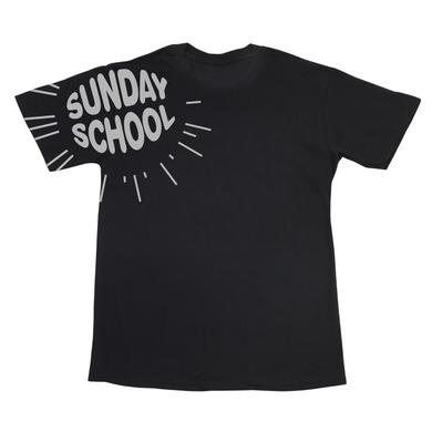 Mysteryland USA Sunday School Black Crewneck Tee