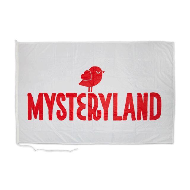 Mysteryland USA Mysteryland Logo Flag
