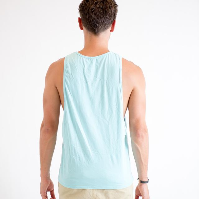 Mysteryland USA I Bird ML Loose Sleeve Tank (Blue)