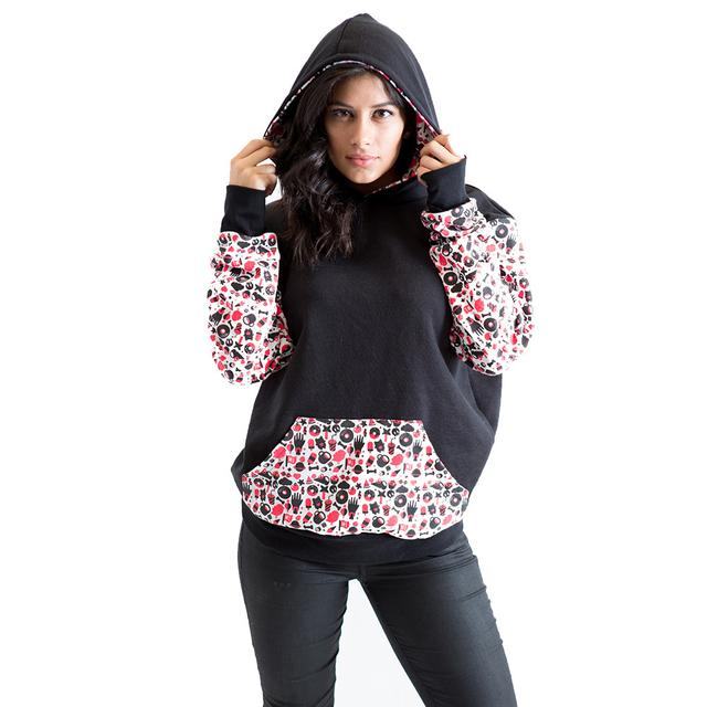 Mysteryland USA Patterned Hoodie (Unisex)