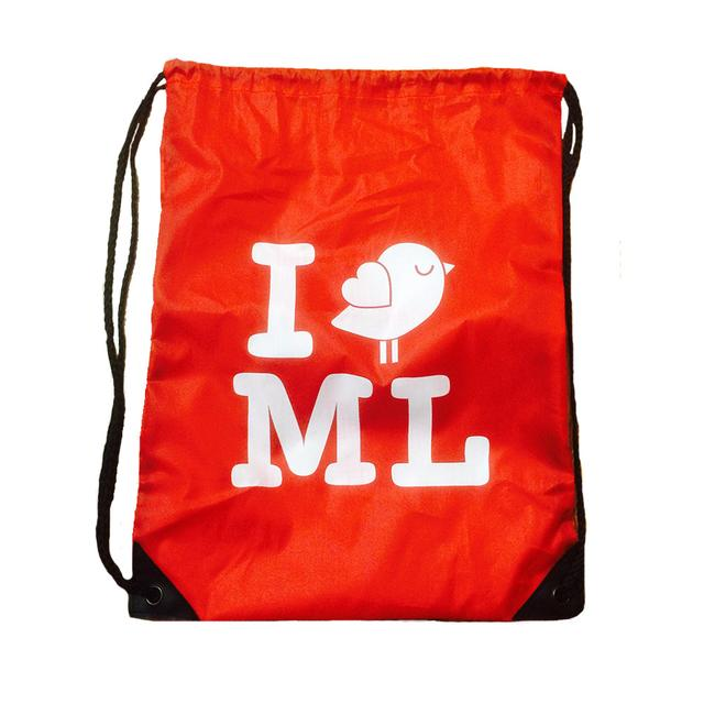 Mysteryland USA Red Drawstring Bag