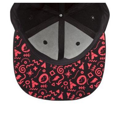 Mysteryland USA Black & Red Birdie Hat