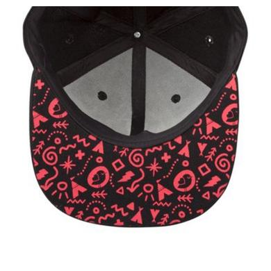 Mysteryland USA Black & Red Birdie Hat
