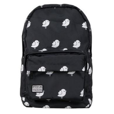 Mysteryland USA Black & White Birdie Backpack