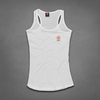 Q-dance Logo Tank Top (White)