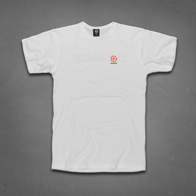 Q-dance Logo Tee (White)