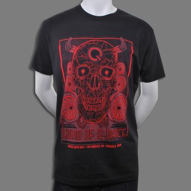 Q-dance Red Skull Tee