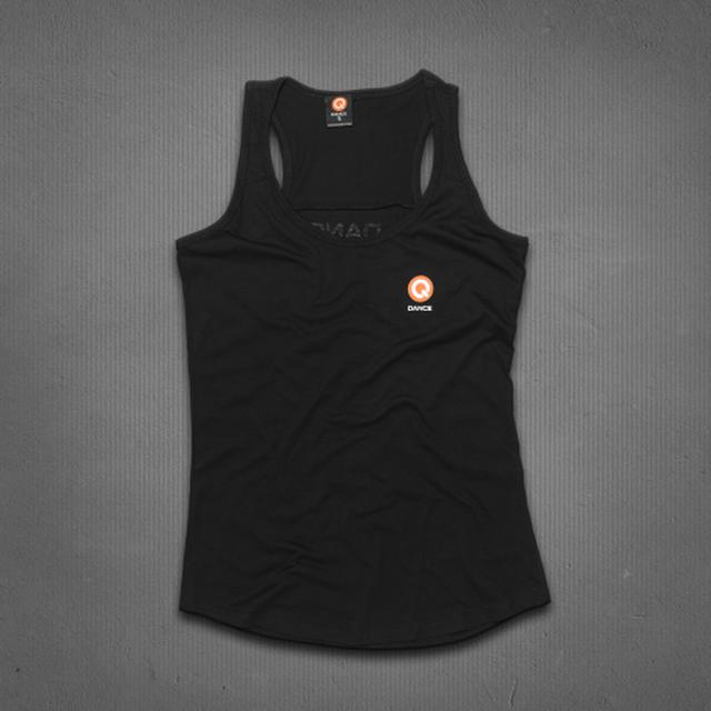 Q-dance Logo Tank Top (Black)