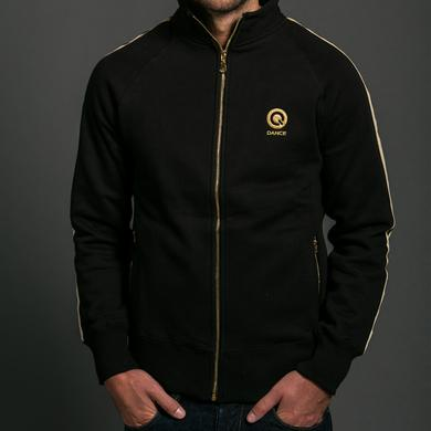 Q-dance Gold Zippered Track Jacket