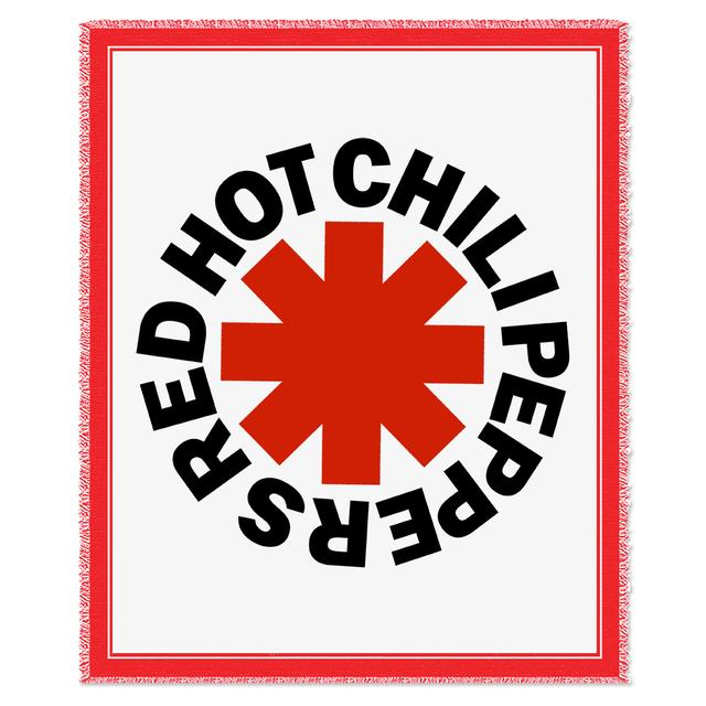 Red Hot Chili Peppers RHCP Asterisk Woven Blanket