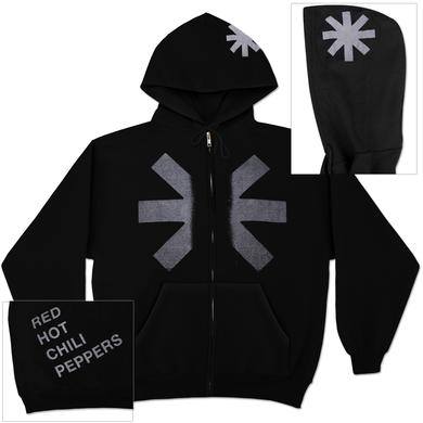 Red Hot Chili Peppers - Asterisk Zip Hoodie